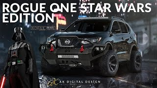 Download Rogue One: Lifted Nissan Rogue One Star Wars Edition | Rendering Video