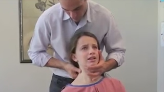 Download Dr. Ian - Young Girl has ACUTE NECK PAIN - FIXED by Gonstead Chiropractic Video