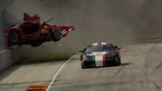 Download CCR Ferrari Challenge Crash At Road America 2015 Video