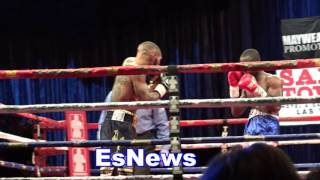 Download ashley theophane wins EVERY RD Easy one judge has it 96-94 check it out - smh EsNews Boxing Video
