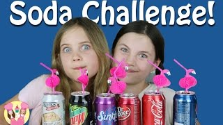Download SODA CHALLENGE by Charli's crafty kitchen - taste test game with pepsi, coke, dr pepper, sprite Video