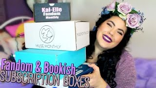 Download ALL THE UNBOXINGS | Bookish & Fandom Subscription Boxes Video