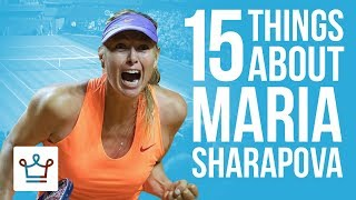Download 15 Things You Didn't Know About Maria Sharapova Video