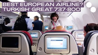 Download TURKISH AIRLINES BOEING 737 800 NEW ECONOMY CLASS TK1390 BOD-IST Video