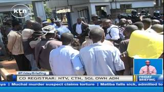 Download Civil Society demonstrate against forceful switchoff by CAK Video