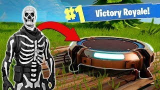Download Using The NEW Jump Pad [Fortnite BR] Video