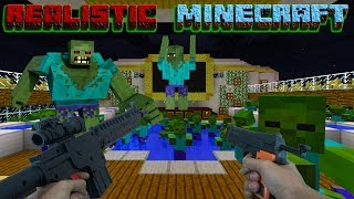 Download REALISTIC MINECRAFT - STEVE GOES On VACATION- 1,000 ZOMBIE APOCALYPSE MEETS STEVE'S BROTHER Video