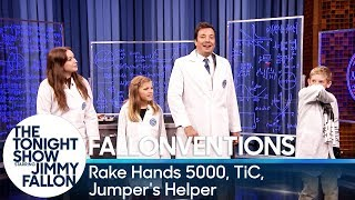 Download Fallonventions: Rake Hands 5000, TiC (Tongue-Interface-Communication), Jumper's Helper Video