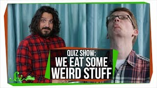 Download SciShow Quiz Show: We Eat Some Weird Stuff (Hank vs. Mike Falzone) Video