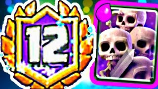 Download Clash Royale - 12 WIN SKARMY! Video