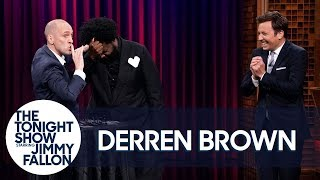 Download Magician Derren Brown Guesses Jimmy's Crush and Hypnotizes Questlove Video