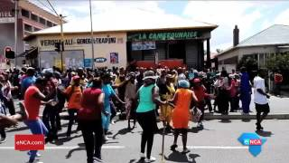 Download Strong police presence in Pretoria West after violence Video