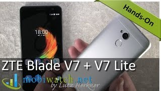 Download ZTE Blade V7 + V7 Lite: Hands-on Video of the Alu Androids – Review Video