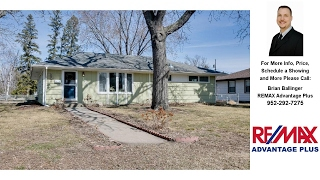 Download 1200 E 92 1/2 Street, Bloomington, MN Presented by Brian Ballinger. Video