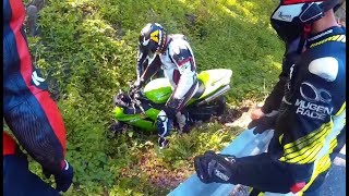 Download MOTORCYCLE CRASHES ON THE ROAD & Car Closes the Road in Front of the Biker. (150 000 SUB.. THANKS!) Video
