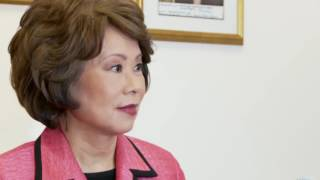 Download Interview with Elaine L. Chao (part 1) Video