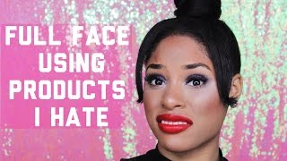 Download FULL FACE USING MAKEUP PRODUCTS I HATE Video