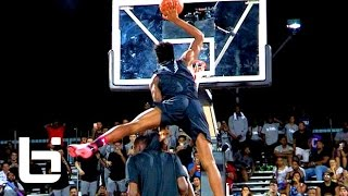 Download Zion Williamson CRAZY Dunks To Win UA Elite 24 Dunk Contest! He's ONLY 16!! Video