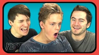 Download YouTubers React to Try to Watch This Without Laughing or Grinning 2 Video