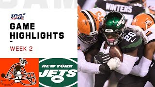 Download Browns vs. Jets Week 2 Highlights | NFL 2019 Video