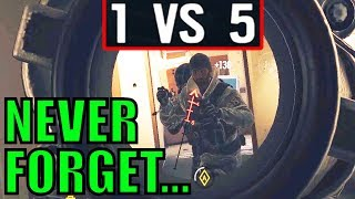 Download UNFORGETTABLE 1V5! (Best Of The Year) - Rainbow Six Siege Gameplay Video
