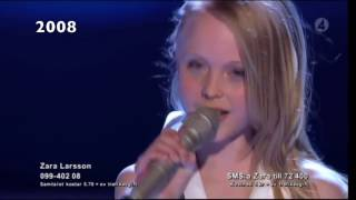 Download Zara Larsson's voice through the years (2008-2016) Video