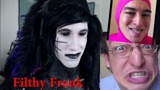 Download Goth Reacts to Filthy Frank Video