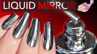 Download THE ″WORLD'S FIRST″ LIQUID MIRROR NAIL POLISH?! (conspiracy theories) Video