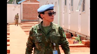 Download Minusca Peacekeeper receives the UN gender Award Video