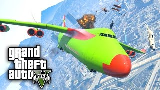 Download CRAZY ANGRY PLANES MOD CHALLENGE - GTA 5 PC Mods and Challenges Video