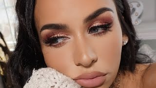 Download PINKY PEACH GLAM | SPRING MAKEUP TUTORIAL Video