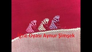 Download Renk renk yapılan yemeni iğne oyası modeli/Turkic Needle lace Video