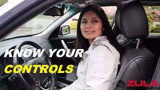 Download Know Your Vehicle Controls | Zula Driving School Video