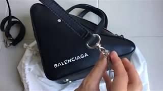 Download BALENCIAGA triangle bag unboxing Video