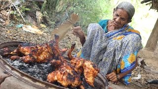 Download Roasted Chicken in Village Style || My Grandma's Chicken Recipe Video