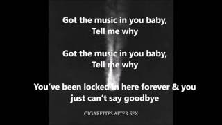 Download Apocalypse - Cigarettes After Sex (LYRICS) Video