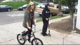 Download BMX vs SCOOTERS: CAN WE ALL GET ALONG? Video