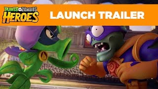Download Plants vs. Zombies Heroes Launch Trailer Video