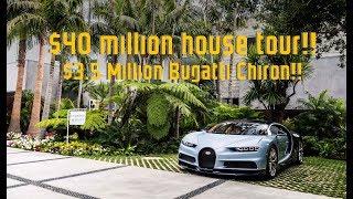 Download $3.5 MILLION Bugatti Chiron DRIVE and $40 MILLION Mansion Tour!! Video
