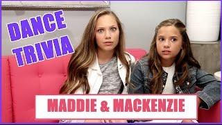 Download Maddie & Mackenzie Ziegler Dance TRIVIA Video