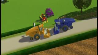 Download Tractor Tom S02E22 Two Harvesters To mejetærskere Dansk Video