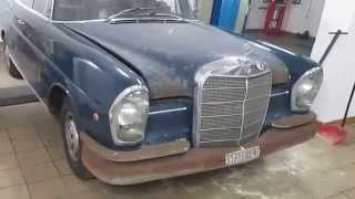 Download W111 MERCEDES 220 SE 1962 ONE OWNER CT97377 Video