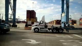 Download Ride along Charleston South Carolina port Video