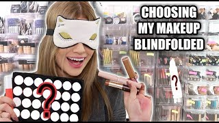 Download Choosing FULL FACE of Makeup BLINDFOLDED... FAIL Video