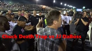 Download JJ Da Boss vs Chuck Death Trap in a Grudge Match at the Memphis Street Outlaws No Prep Video