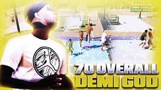Download NBA 2K19 70 OVERALL DEMI GOD IS UNGUARDABLE! BEST BUILD + JUMPSHOT FOR ALL CENTER BUILDS! Video