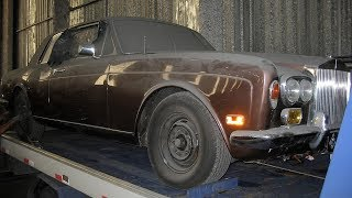 Download Abandoned 1974 Rolls Royce Corniche Coupe Restoration Project Video