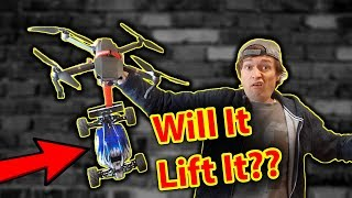 Download Will my Drone lift an RC Car - Workshop FUN Video