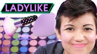 Download Women Try The Kids' Makeup Challenge • Ladylike Video