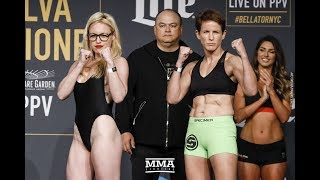 Download Bellator NYC Weigh-In Highlights - MMA Fighting Video